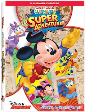 Go Mickey Go! Mickey Mouse Clubhouse: Super Adventure