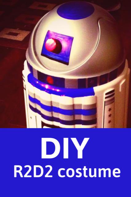R2D2 DIY Costume