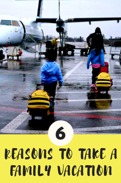 Six reasons to take a family vacation. #Travel