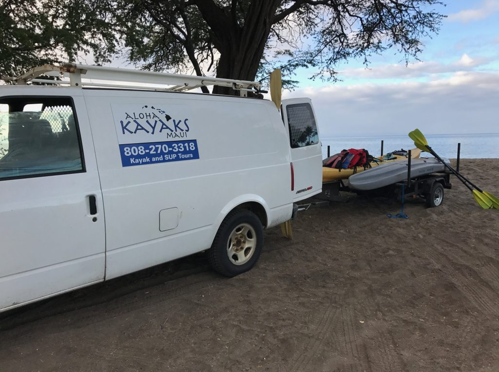 Aloha Kayaks Maui review