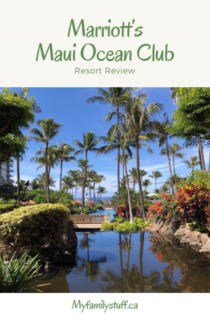 Marriott's Maui Ocean Club resort review