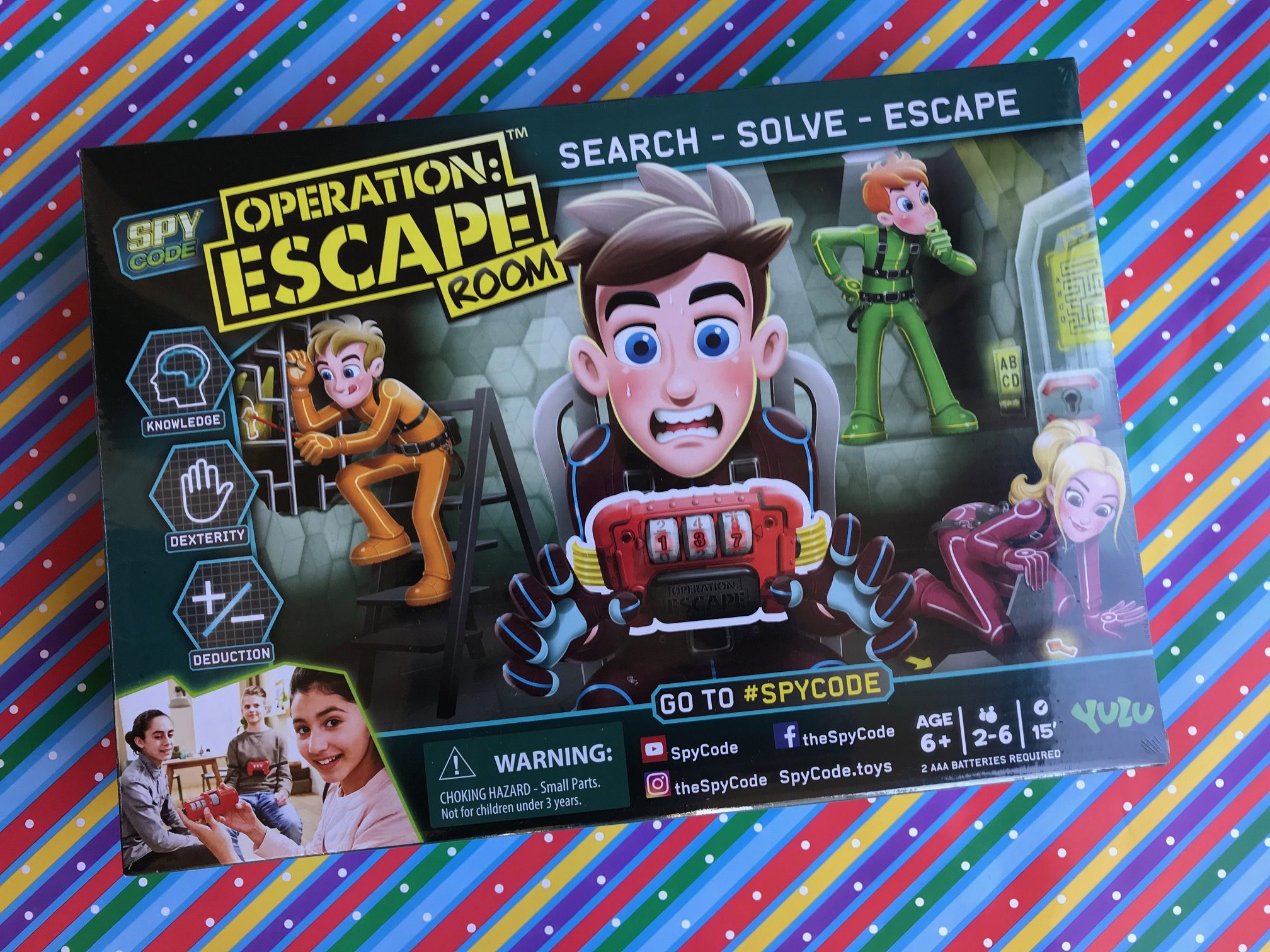 Spy Code Operation Escape Room Game From Yulu
