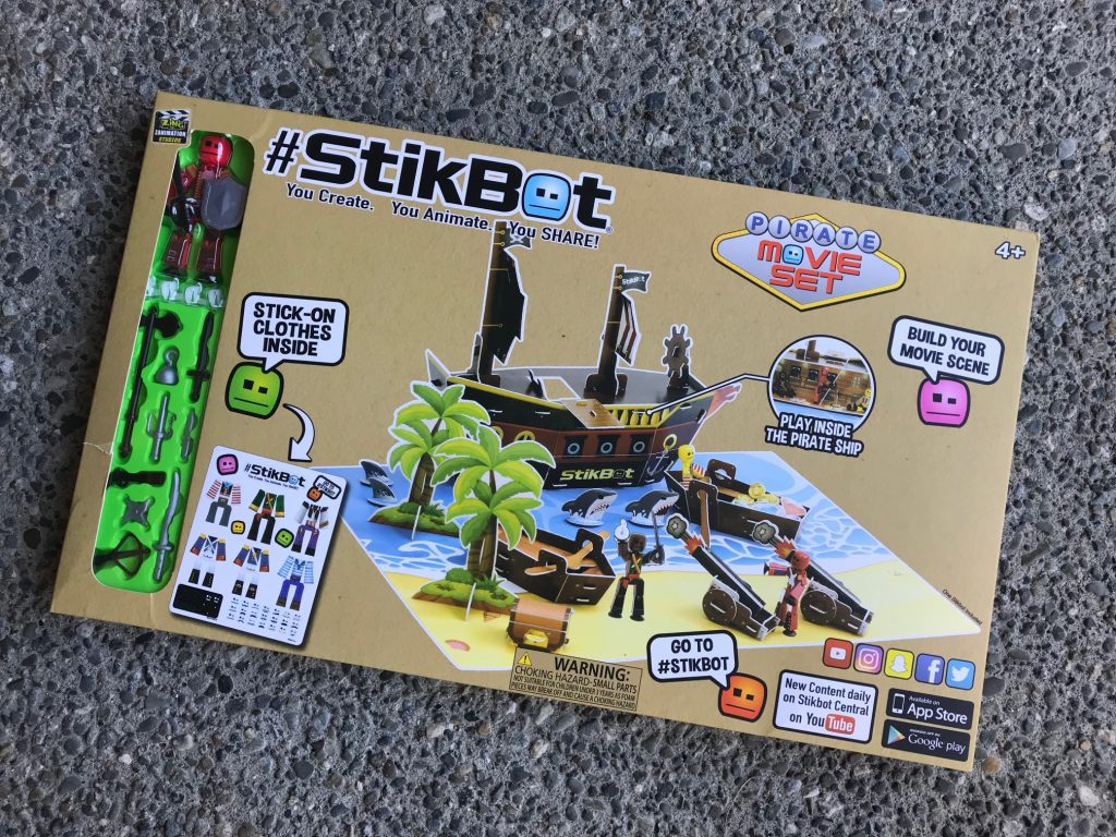 StickBot Movie Set