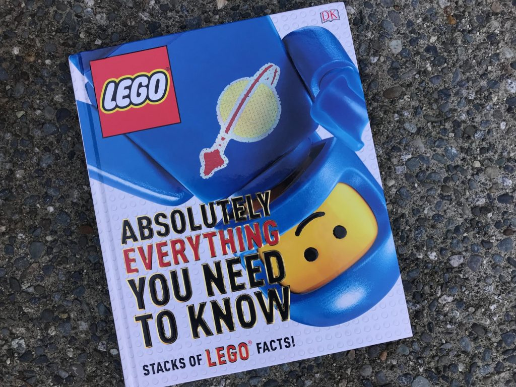 DK books LEGO facts
