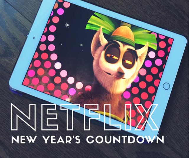 Netflix New Year's countdown