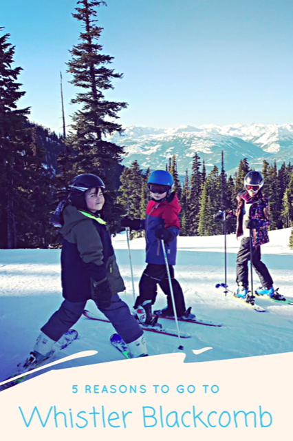 Family Ski Getaway Whistler Blackcomb