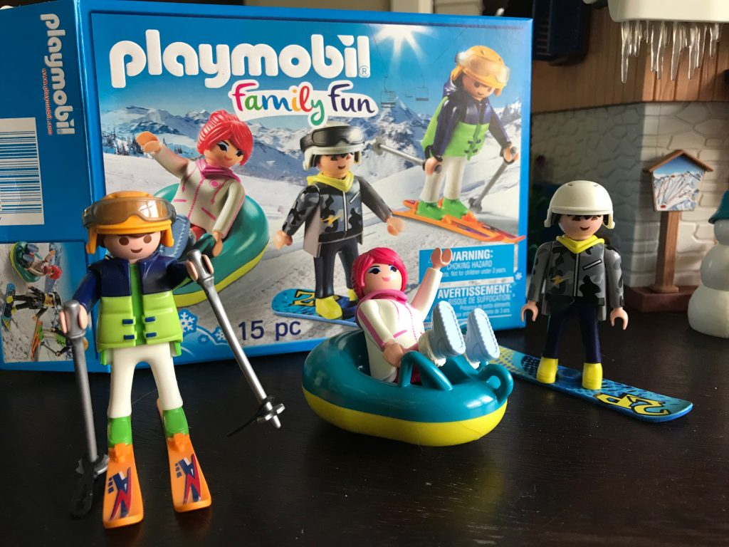 Playmobil winter trio