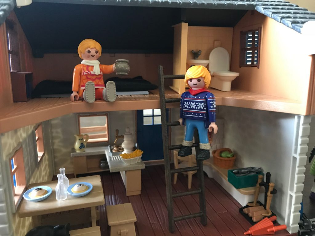 Playmobil ski lodge interior