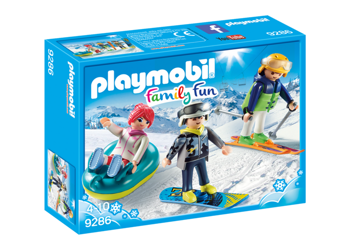 Playmobil winter sports trio