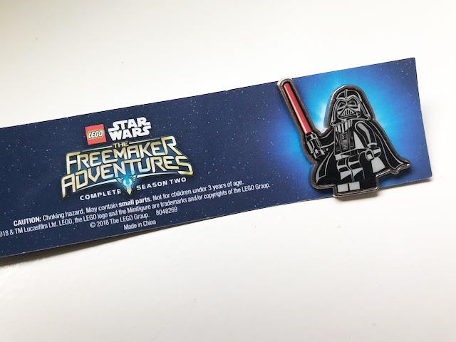 LEGO Star Wars Darth Vader Pin
