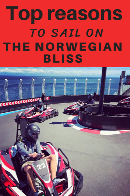 Top reasons to sail on the Norwegian Bliss #Cruise