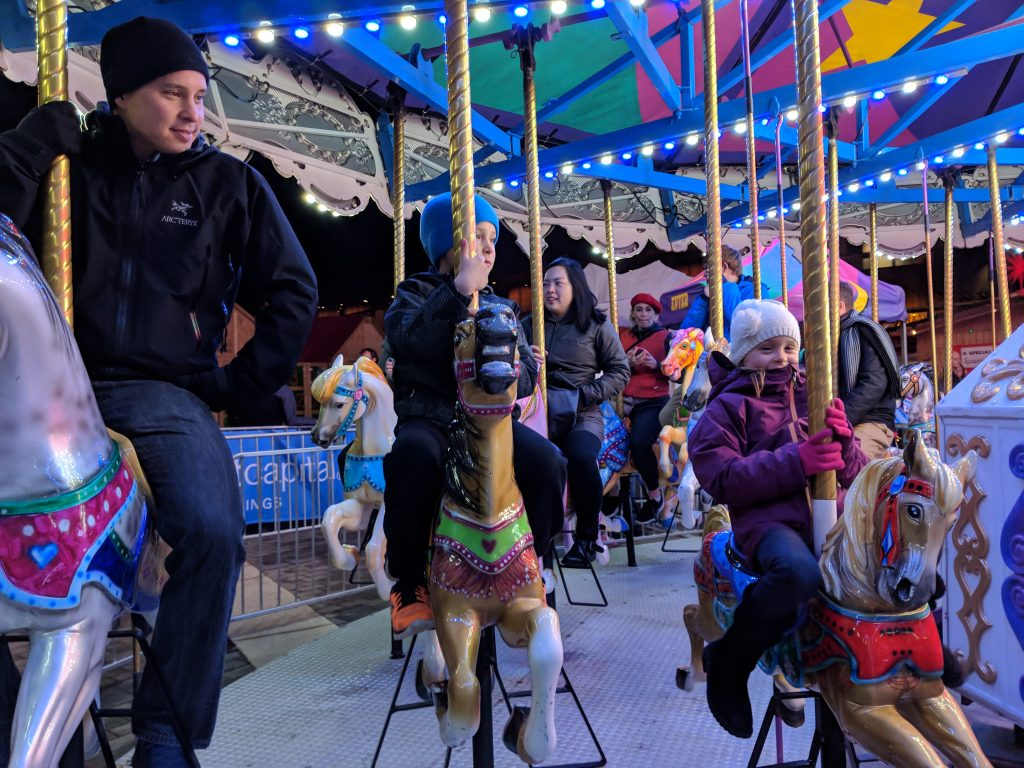 Carousel Vancouver Christmas Market