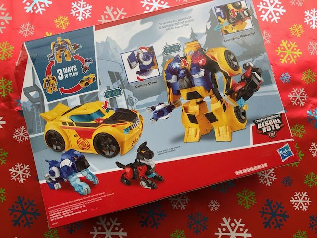 Bumblebee rescue bots