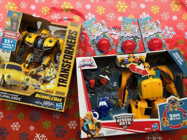 Transformers Bumblebee toys