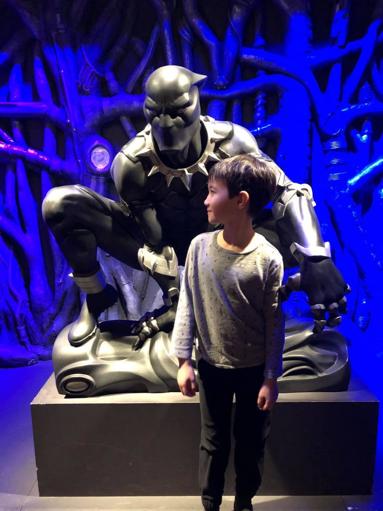 MoPop Seattle Marvel exhibit Black Panther