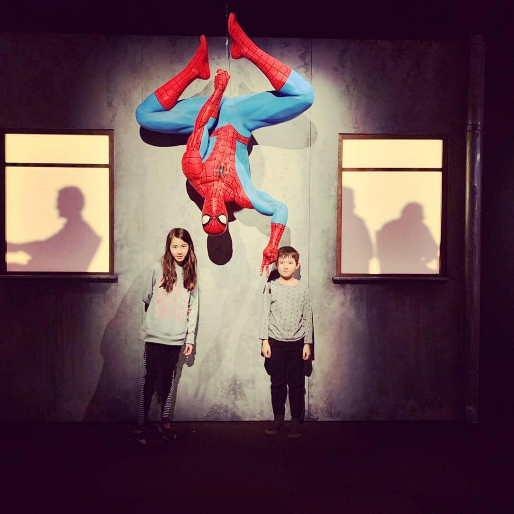 MoPop Marvel Exhibit Spider-Man