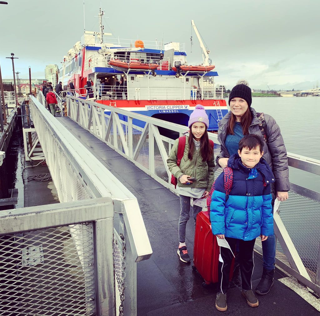 Travel with the Victoria Clipper