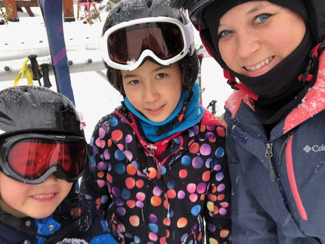 Skiing with Kids Whistler