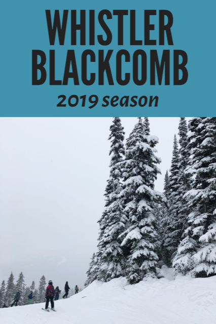 Whistler Blackcomb 2019 Season events