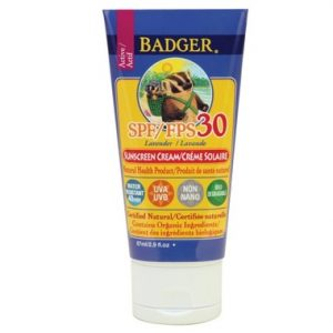 Badger Lavender Sunscreen