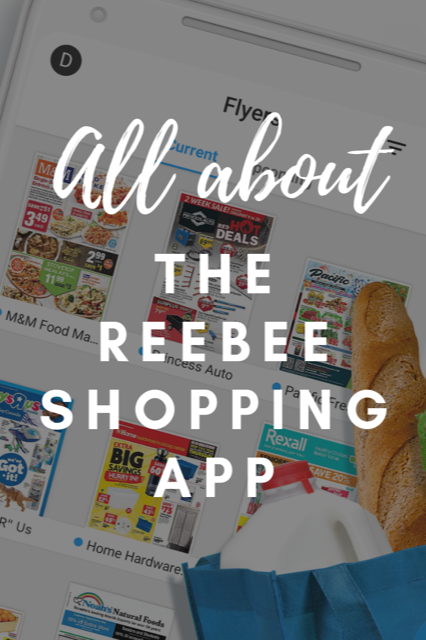 All about the reebee shopping app
