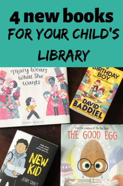 Four new Harper Collins books for children.