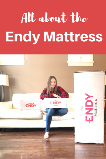 All about the Endy Mattress