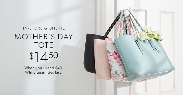 Mother's Day Tote at Indigo