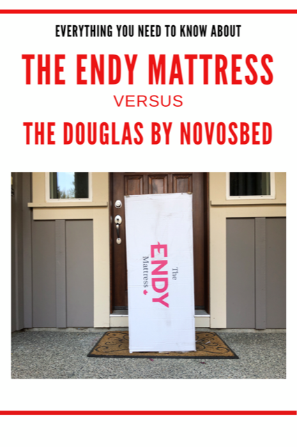 The Endy Mattresss versus the Douglas by Novosbed