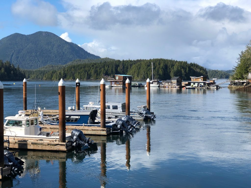 Tofino Marina Resort view