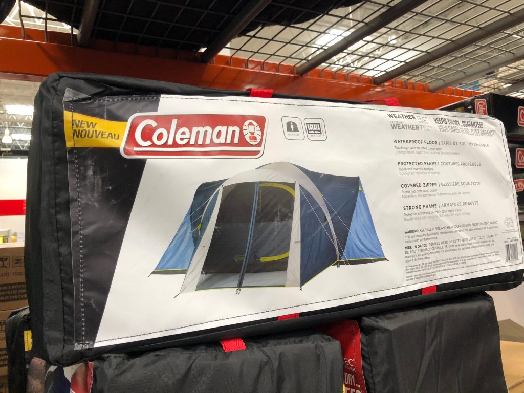 Coleman Tent at Costco