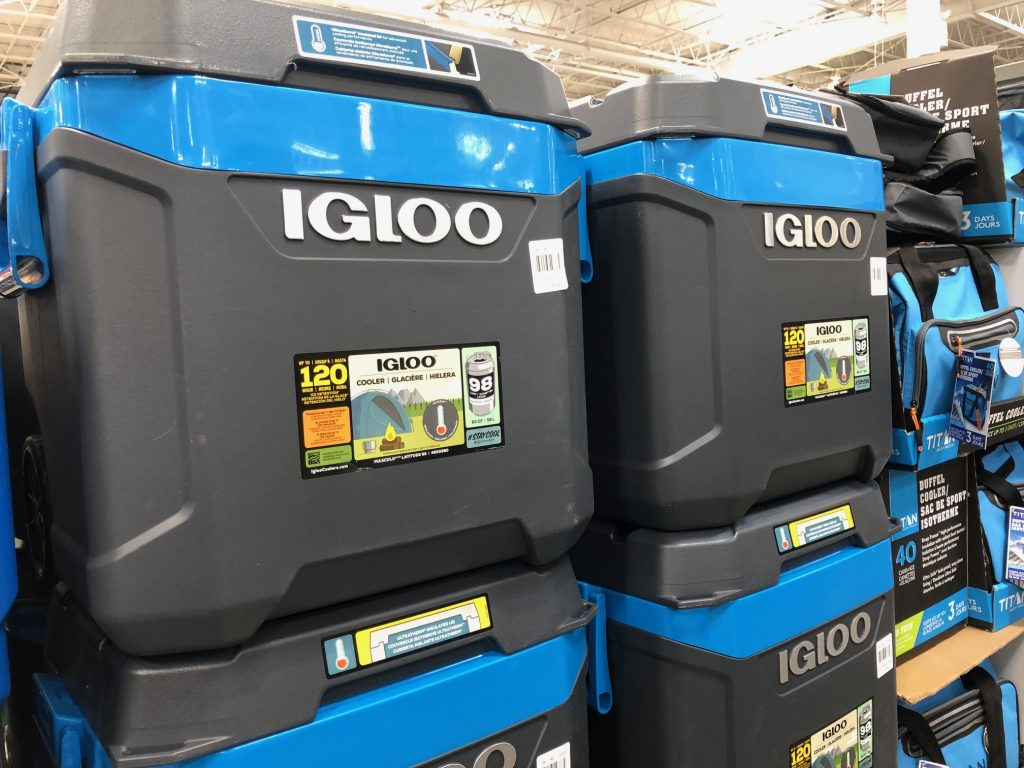 Igloo Cooler at Costco
