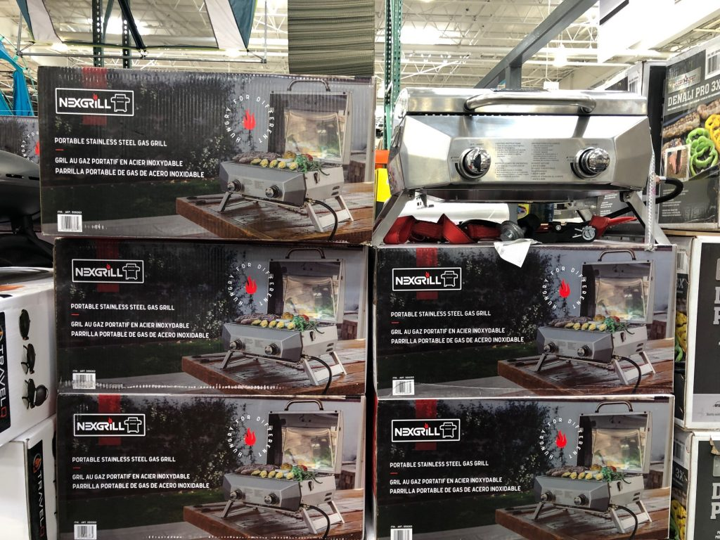 Portable BBQ at Costco