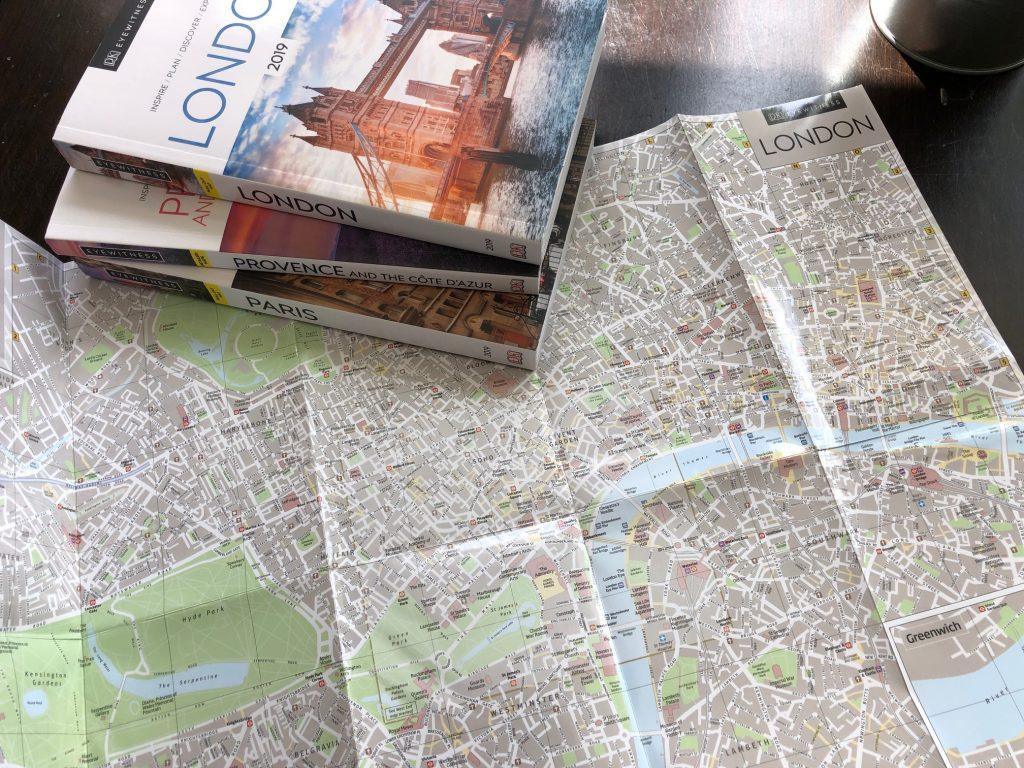 DK Eyewitness Maps