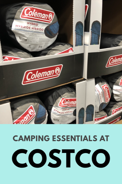 Camping Essentials at Costco #camping