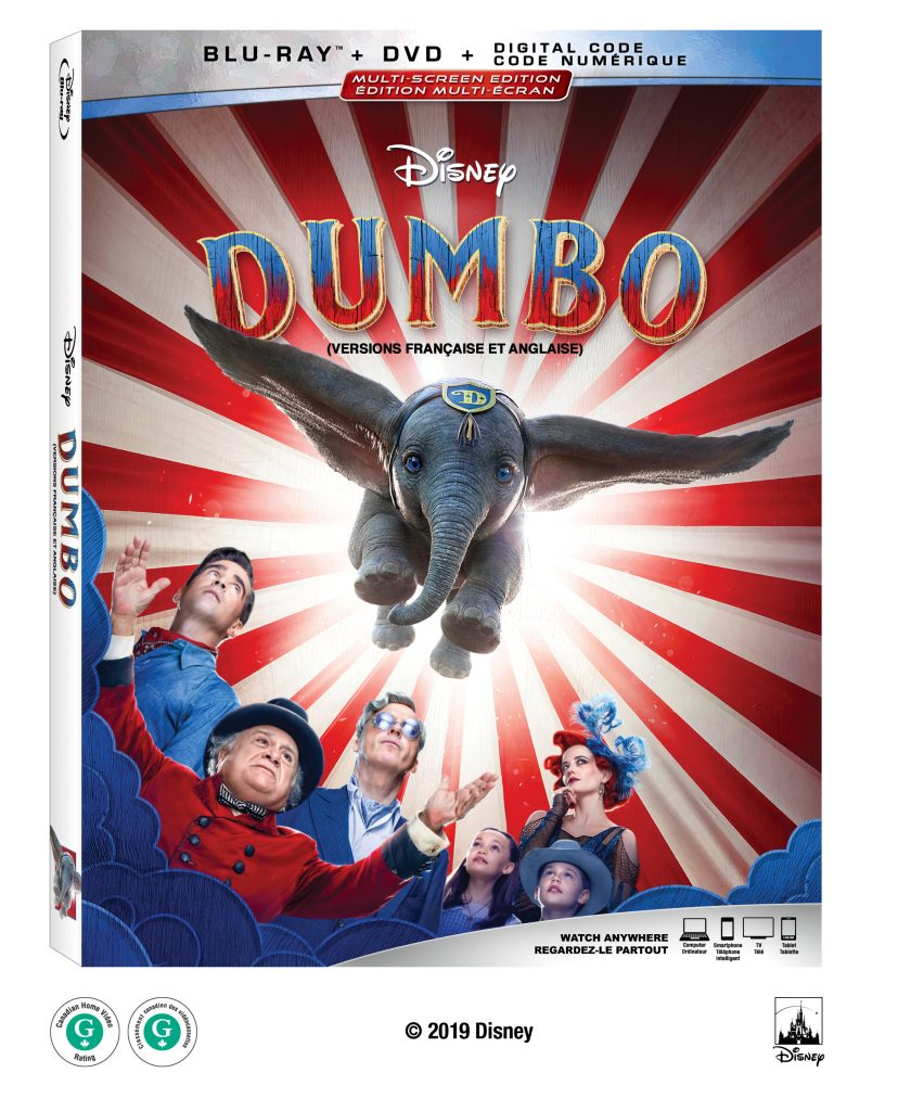 Disney's Dumbo now on DVD and Blu-Ray