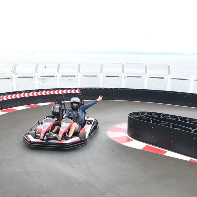 Norwegian Joy Race Track