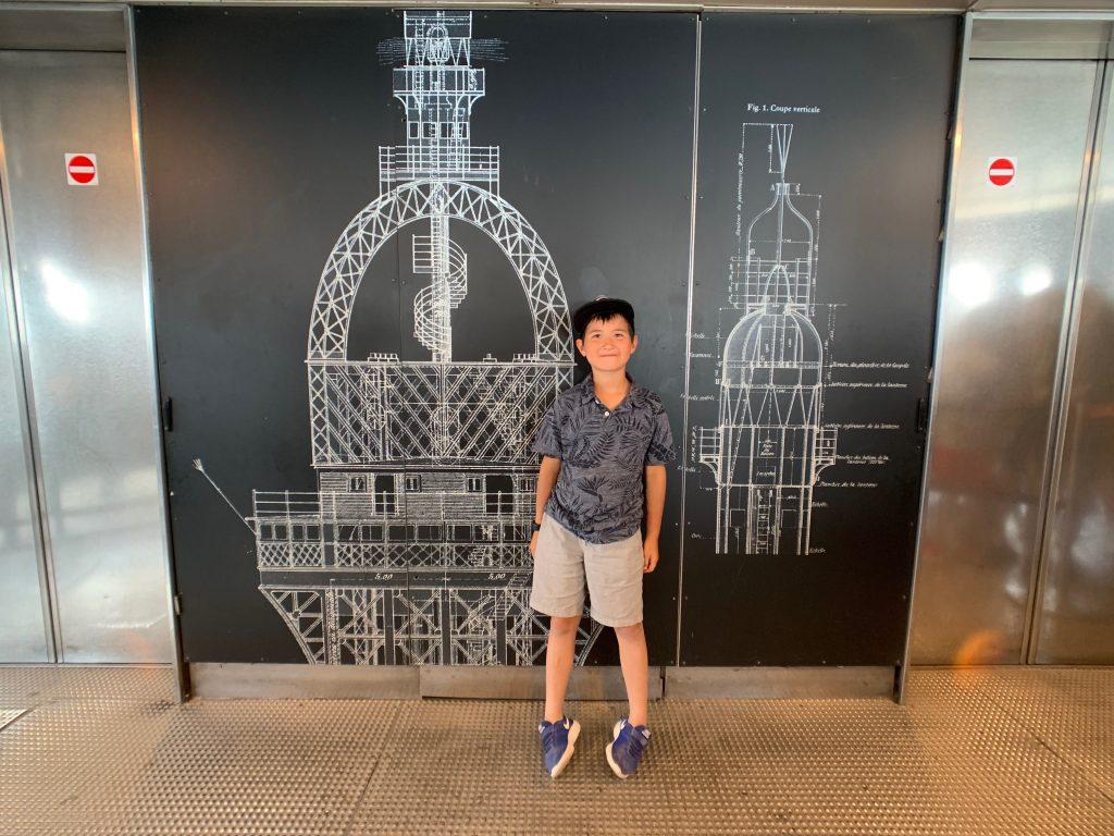 Eiffel Tower architechture