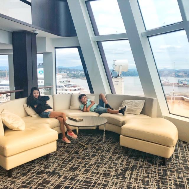 Norwegian Joy Observation Lounge