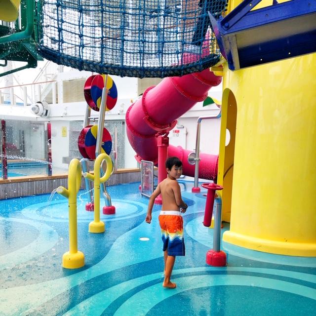 Norwegian Joy kids aqua park