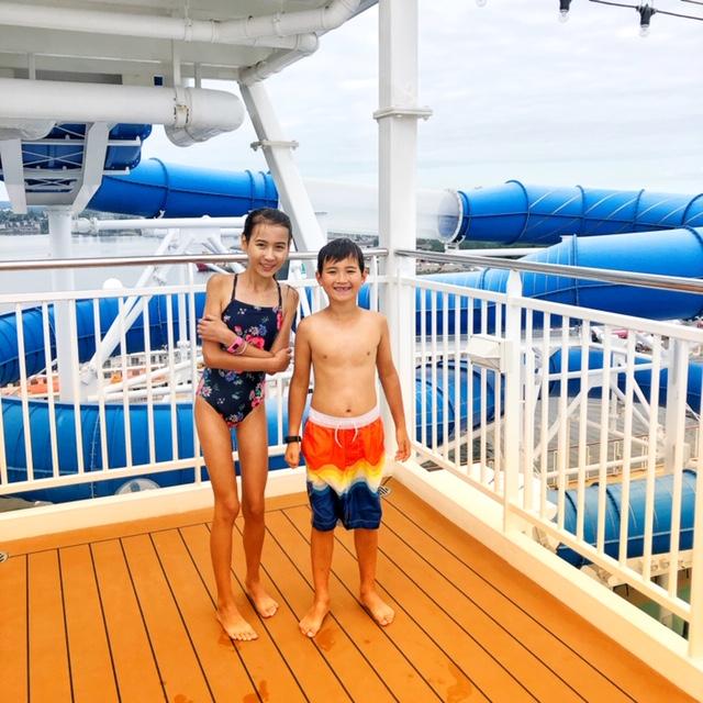 Norwegian Joy Pool deck