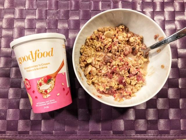 Goodfood overnight oats