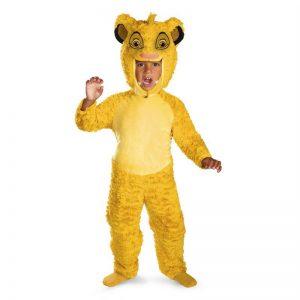 Deluxe Simba Costume
