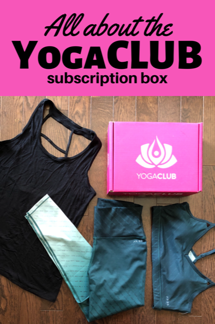 All About YogaClub: a subscription box for active moms