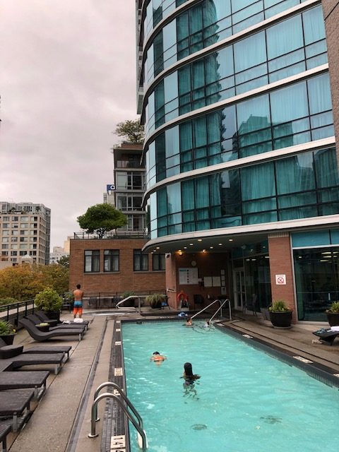 The Westin Grand Vancouver Pool