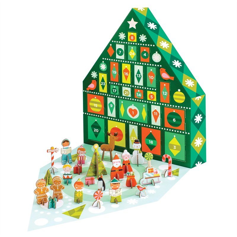 Tree Pop-Out Advent Calendar