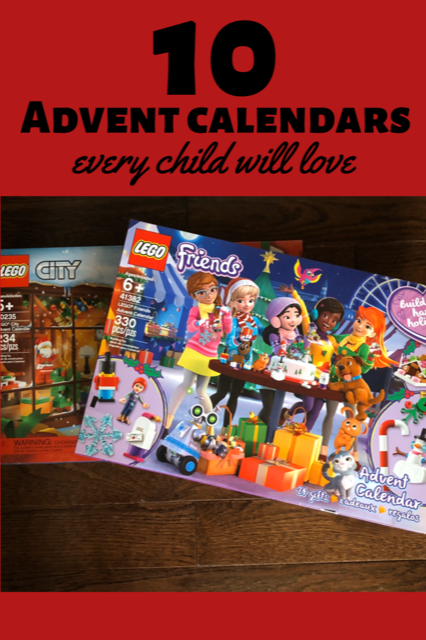 10 awesome Advent Calendars every child will love! #Christmas #AdventCalendar #MustHave #ChristmasCountdown #KidsChristmas