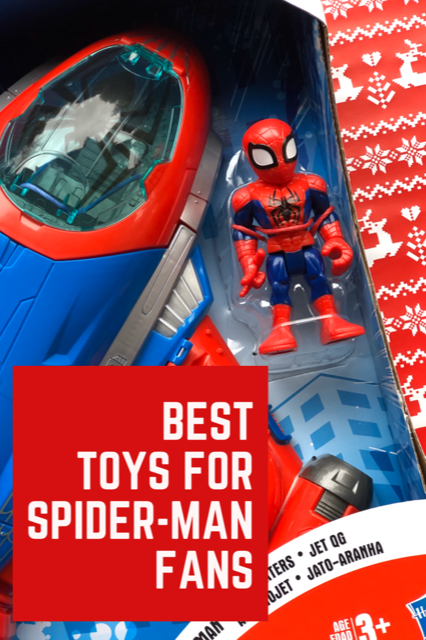 Best Toys for Spider-Man Fans! #SpiderMan #Giftguide #MFSGiftGuide #Spidermantoys