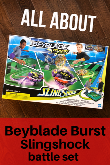 Beyblade Burst Slingshock Battle set review #Beyblade #giftguide