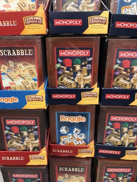 Vintage Hasbro Games at Costco